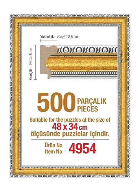 Educa Heidi 500 Parçalık Puzzle Çerçevesi 48X34 Cm 4954 Renkli